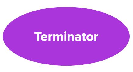 Oval - terminator