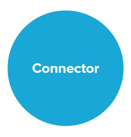 Circle - connector