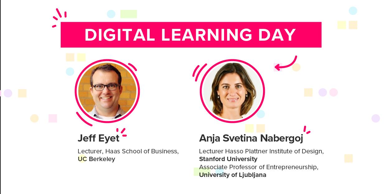Digital Learning Day — Jeff Eyet, Anja Svetina Nabergoj