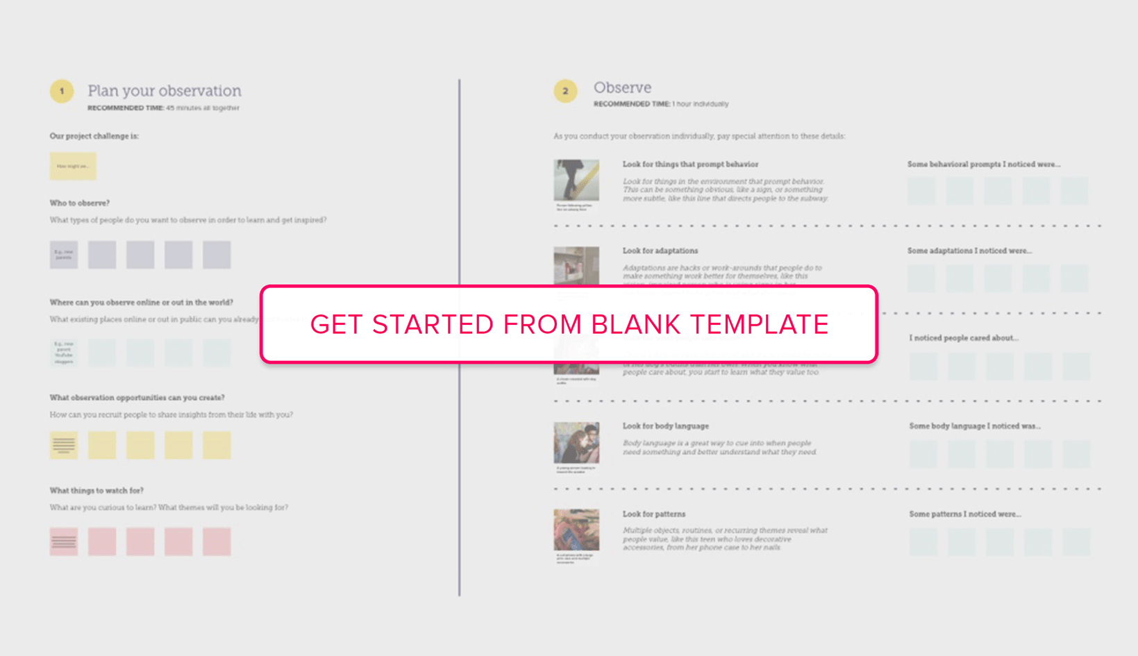 Get started from Customer Insights Blank Template