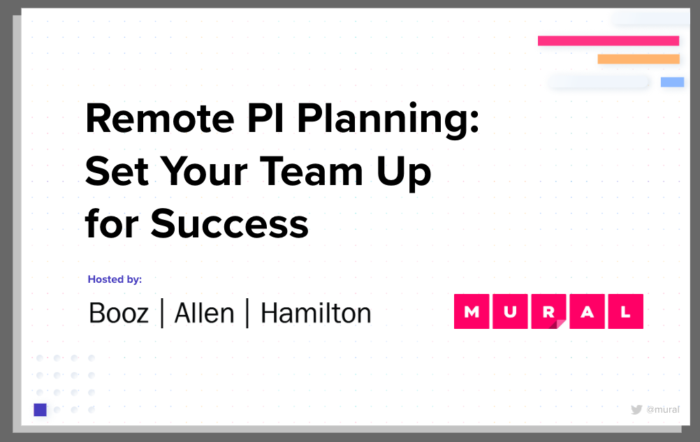 Remote PI Planning: Click to access the presentation