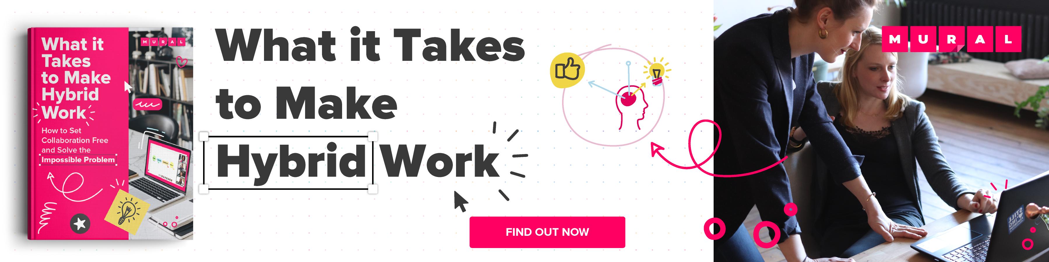 What it takes to make hybrid work pdf