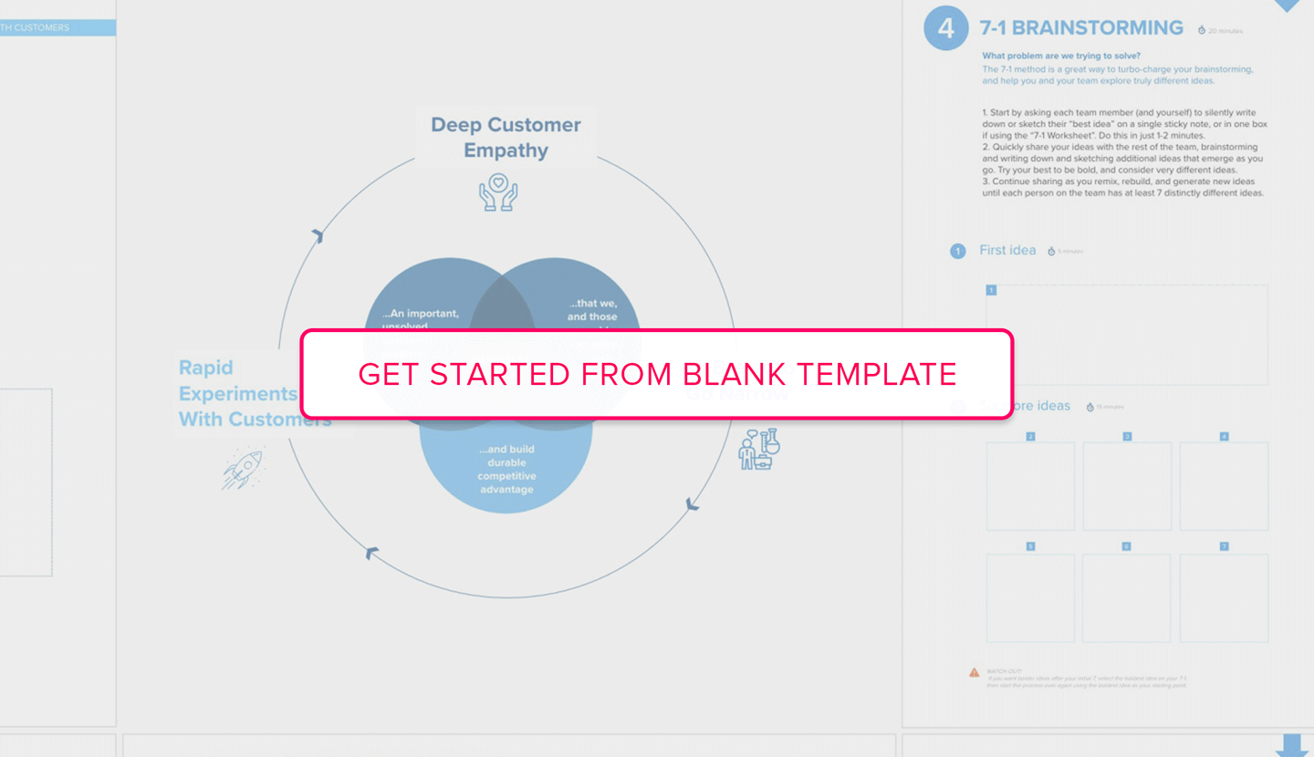 Open Design for Delight Loop template landing page