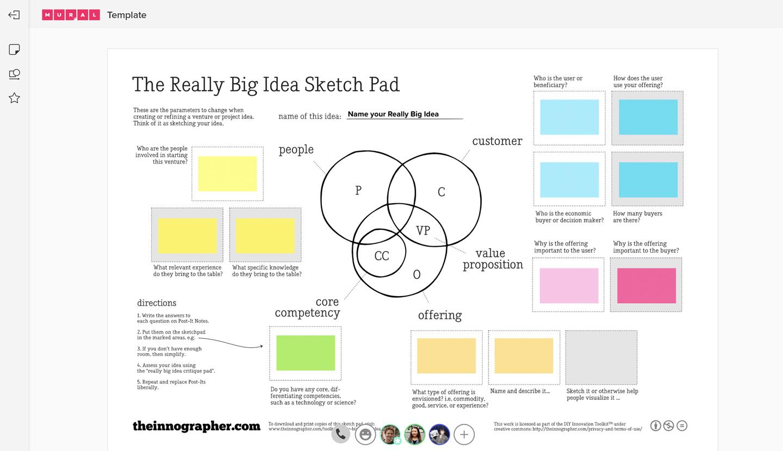 Really Big Idea Sketch Pad