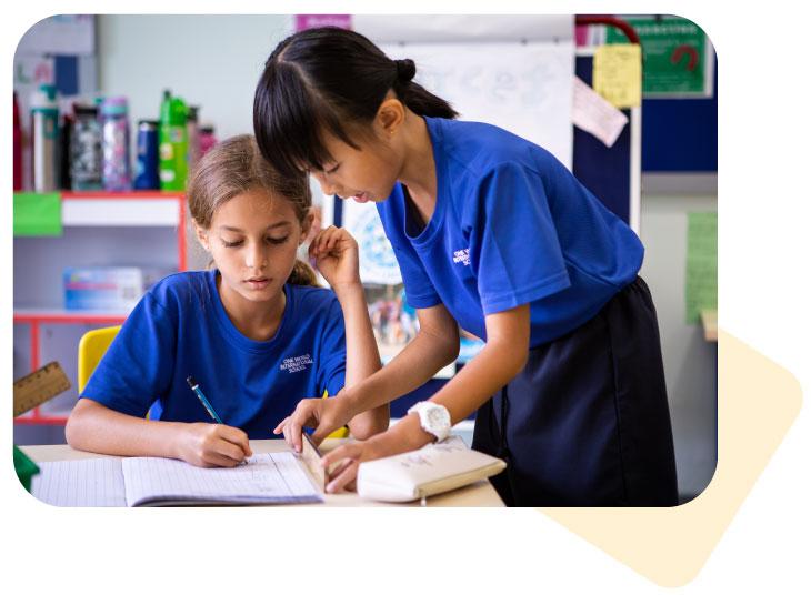 female-students-doing-classwork