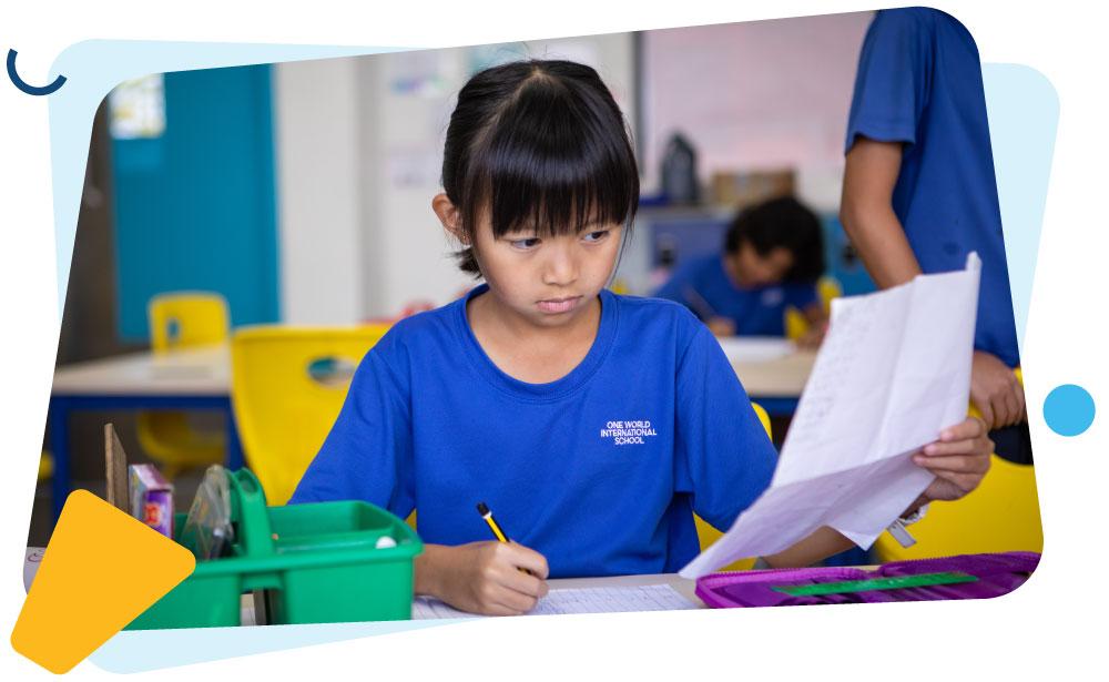 female-student-doing-classwork