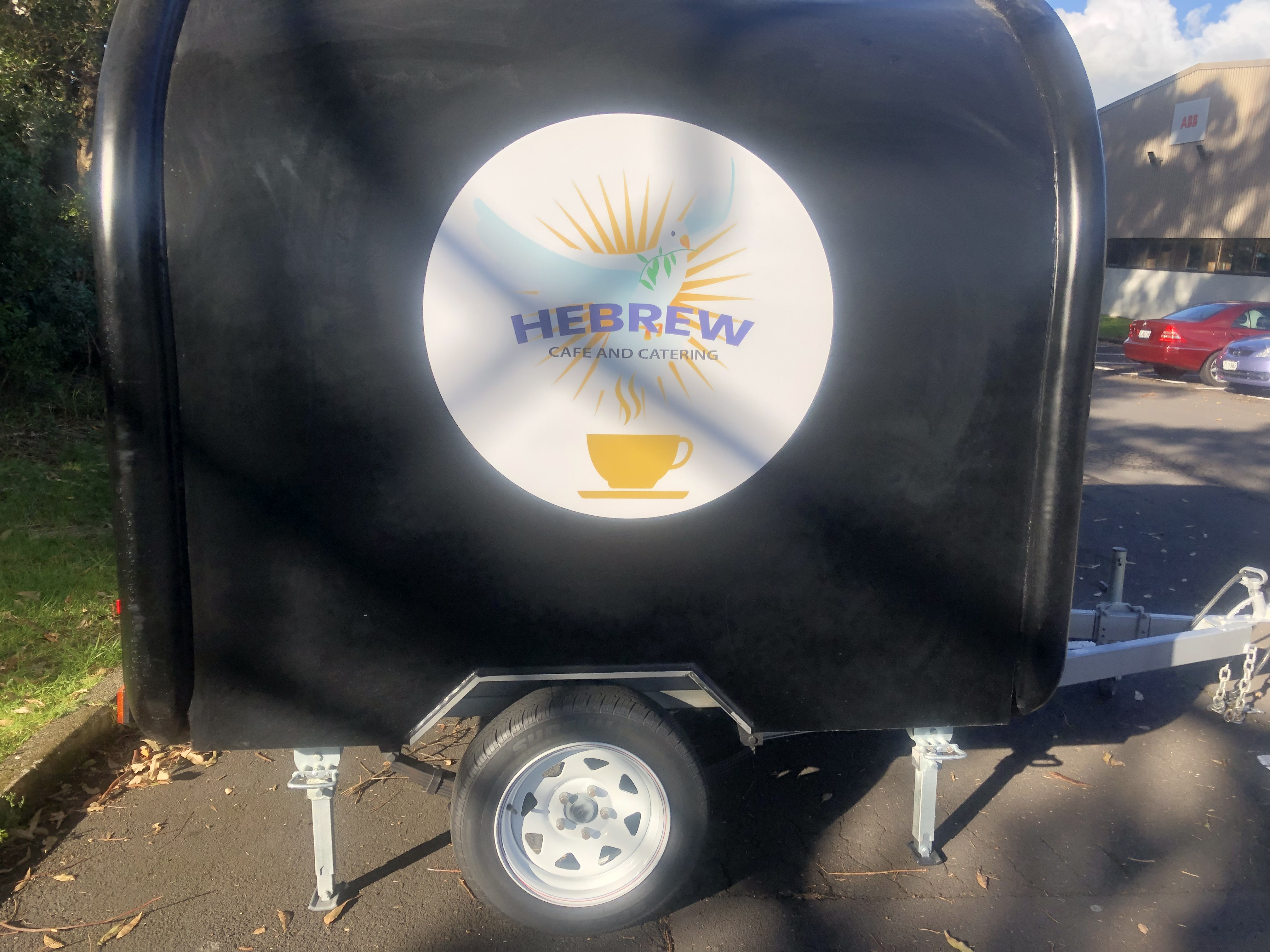 Hebrew Cafe Coffee Cart