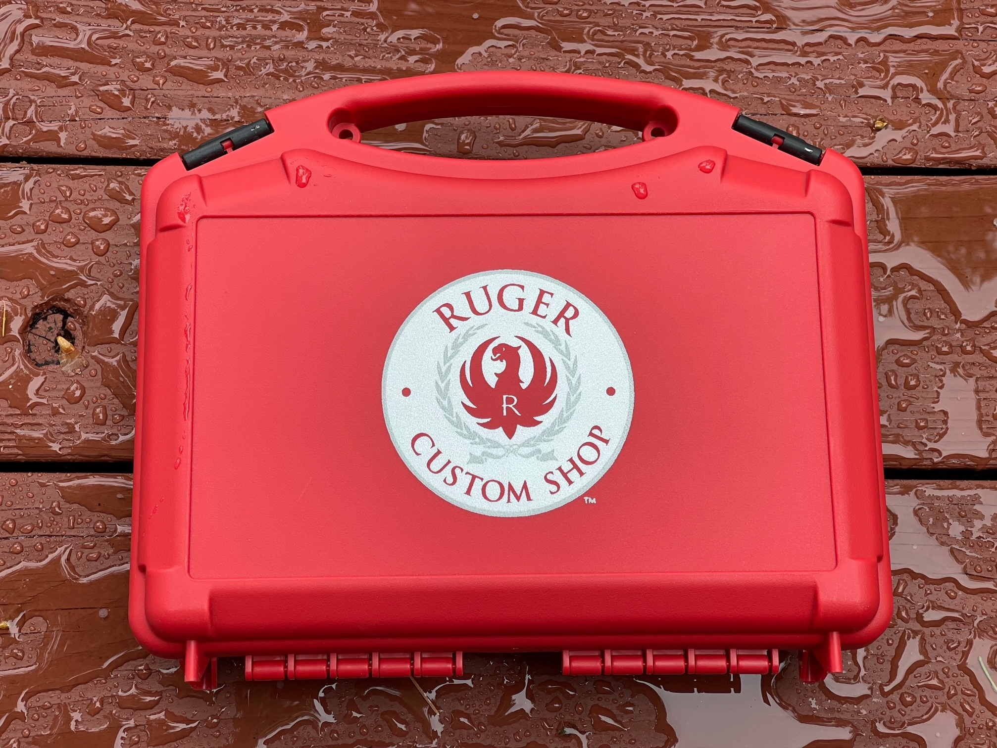 Ships with Ruger Custom Shop Accessory Kit