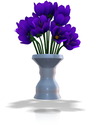 Midnight Violet Bouquet