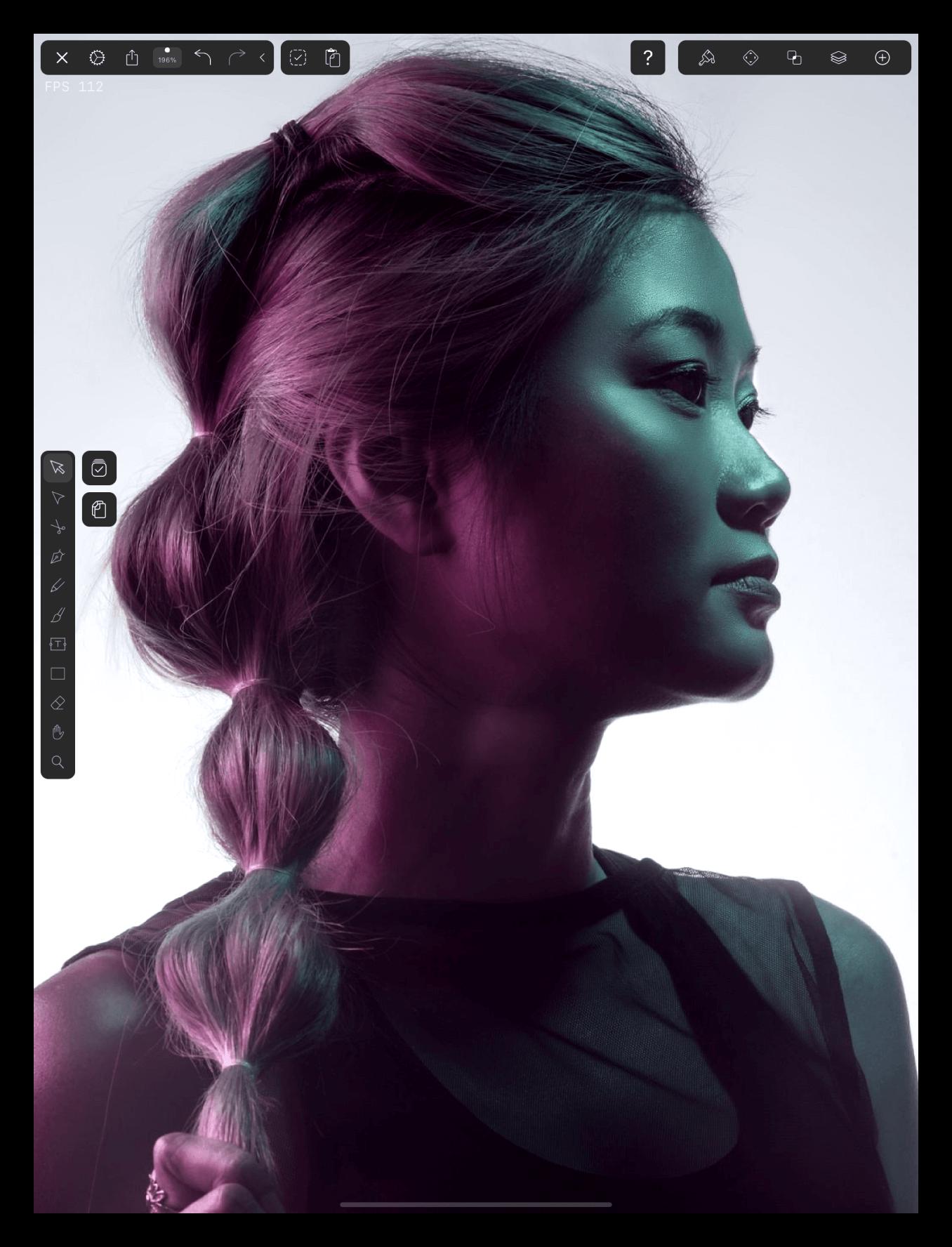 print girl