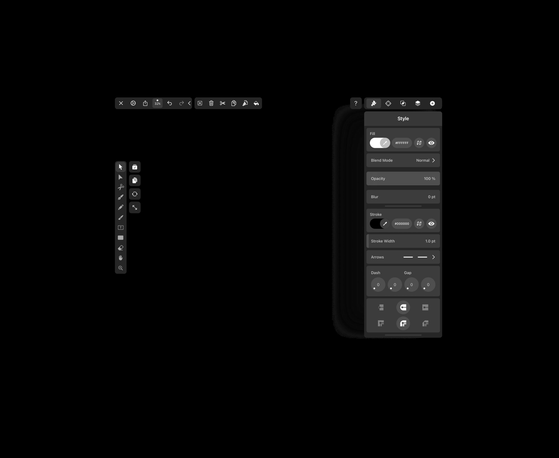 Vectornator UI