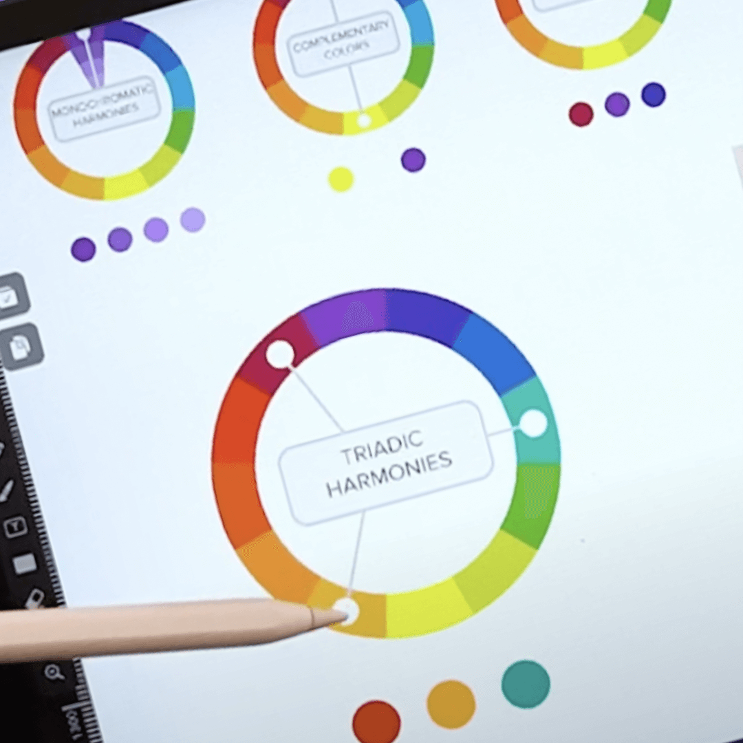 Color Theory explained with Vectornator iPad