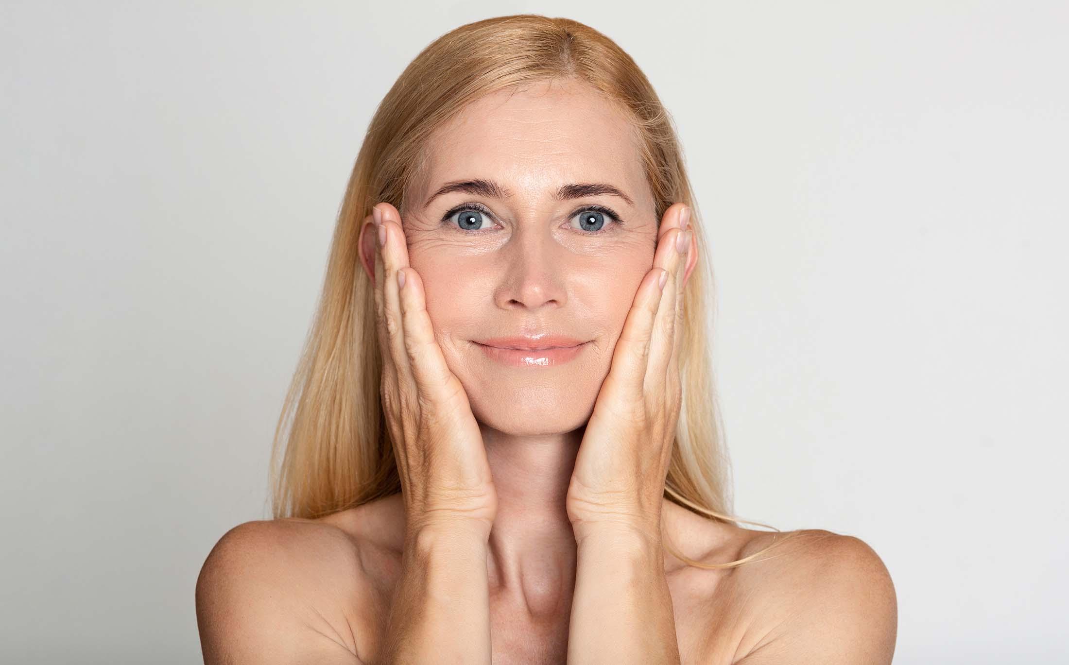 Gemiddelde huidveroudering