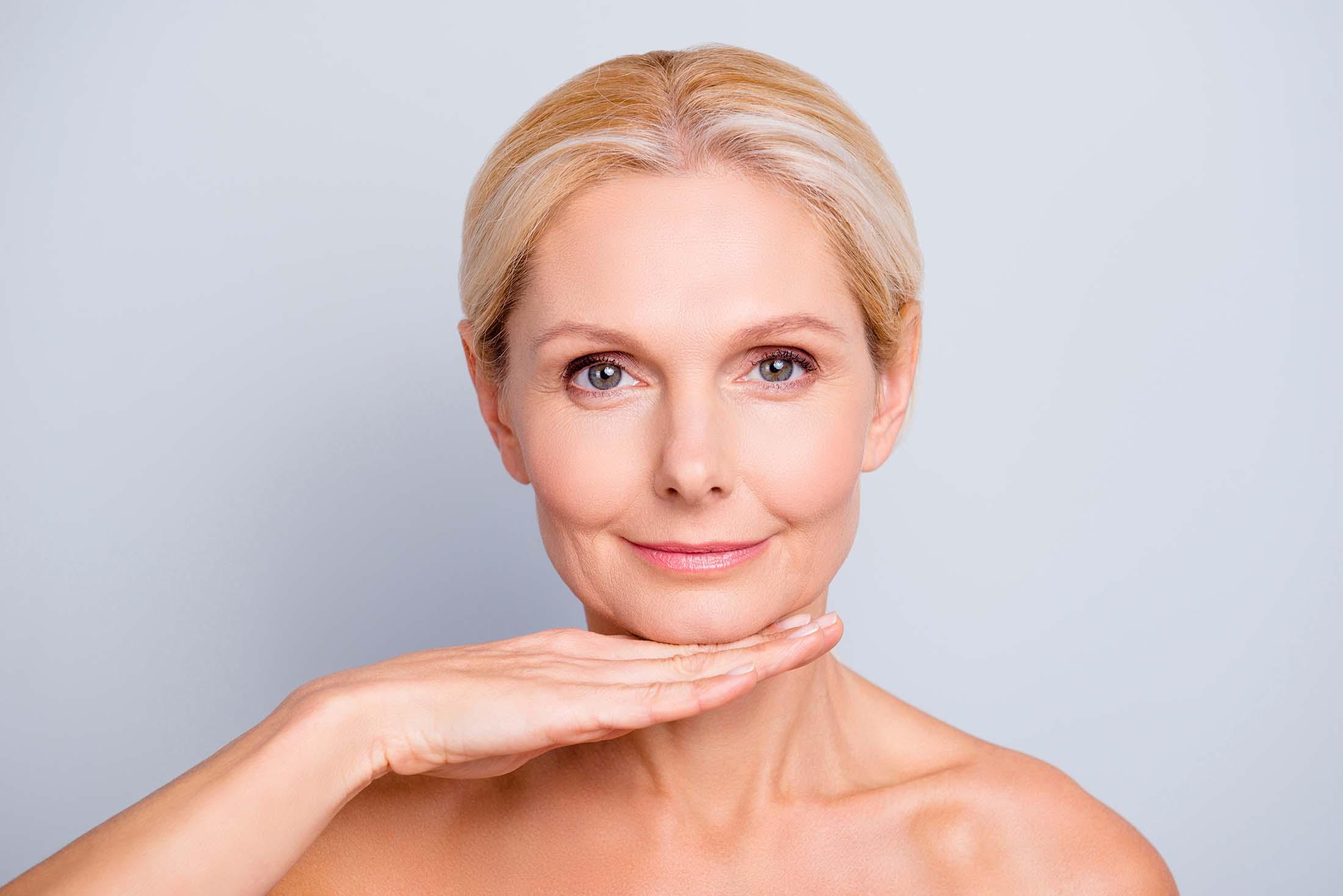 Gevorderde huidveroudering