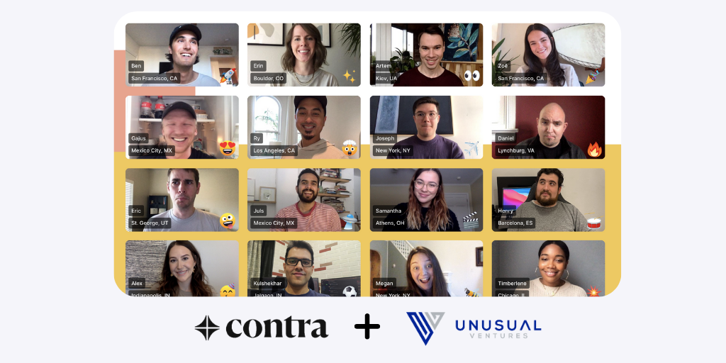 Powering the Future of Independent Work — Our Series A in Contra
