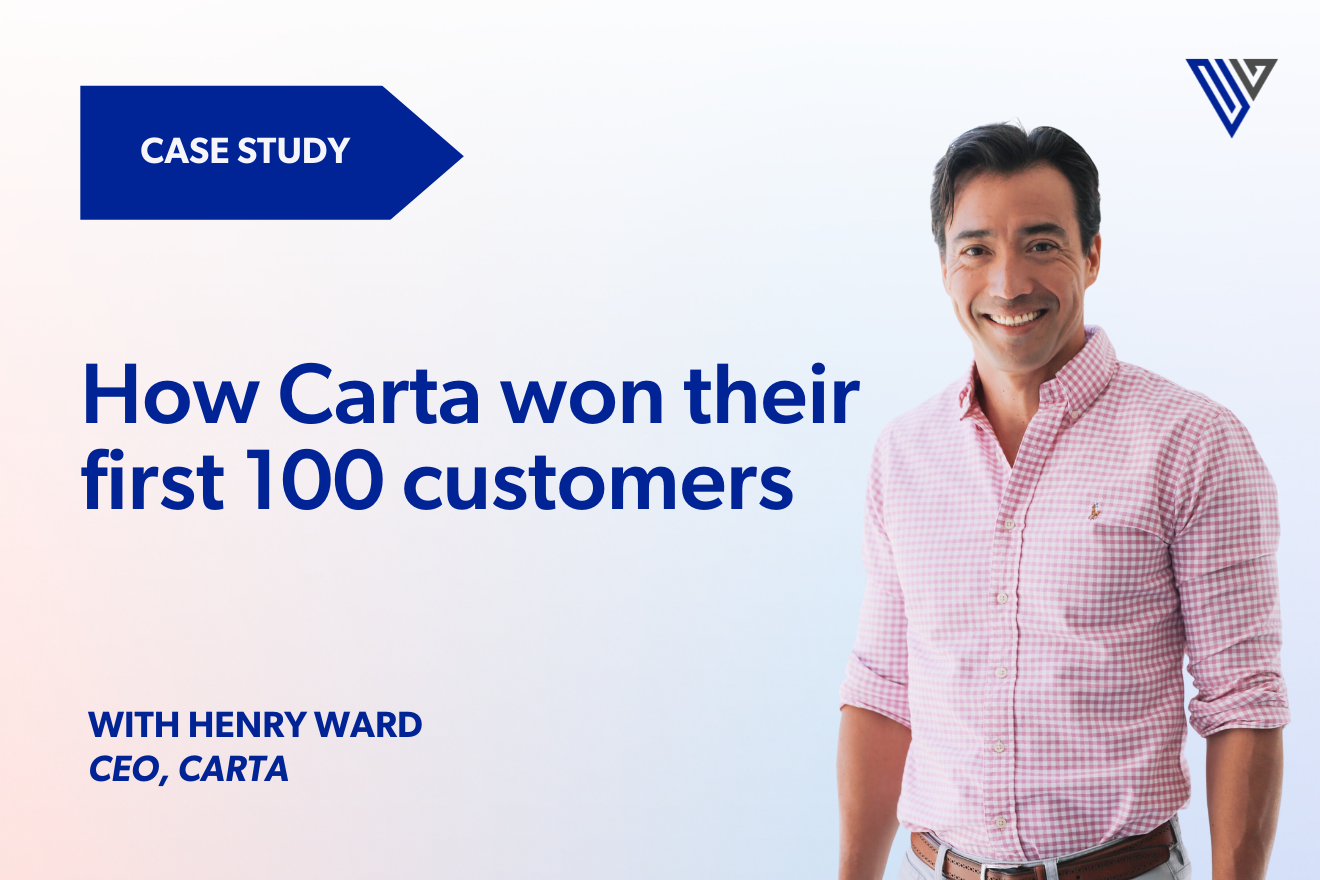 How Carta won their first 100 customers