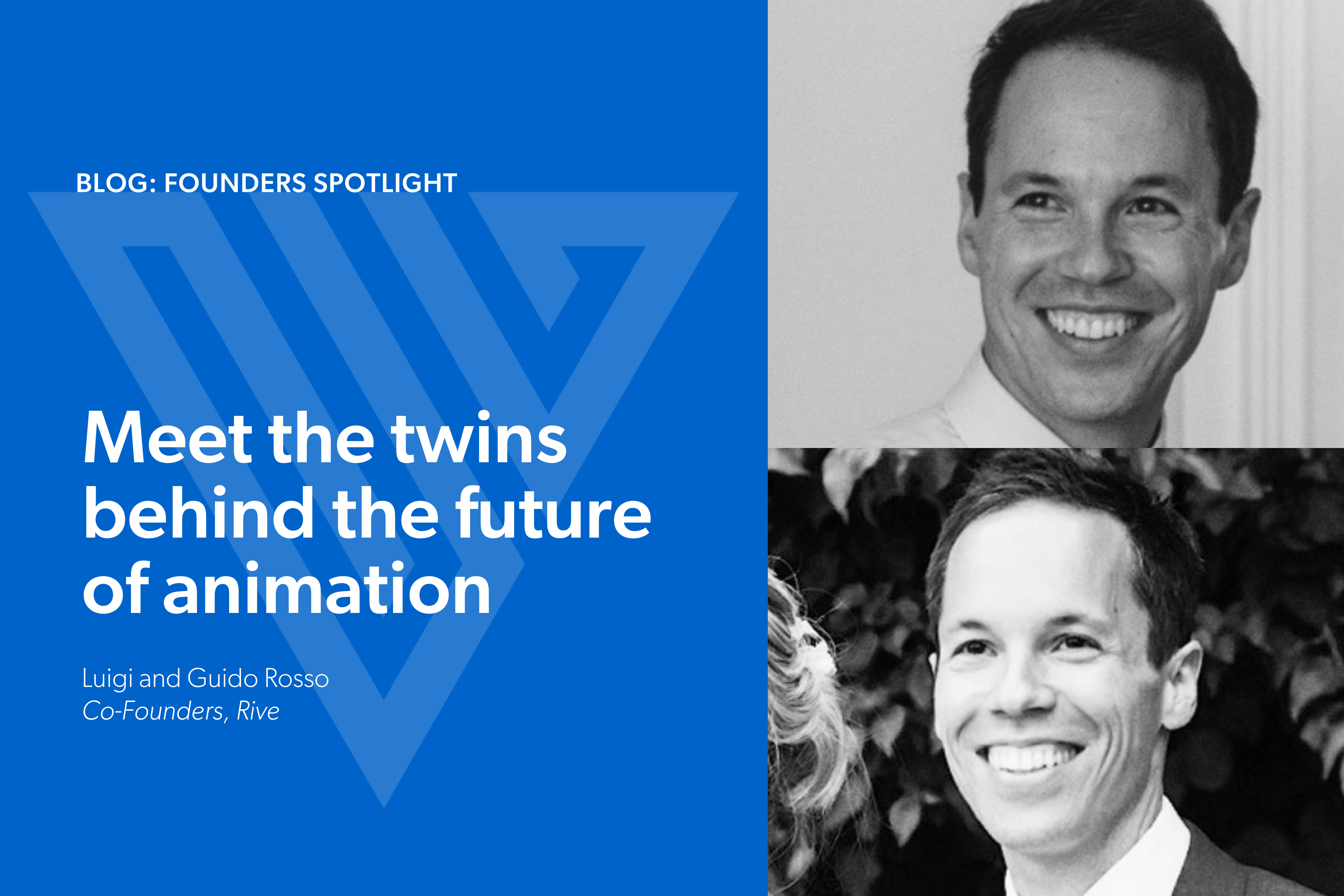 Meet the twins behind the future of animation: Luigi and Guido Rosso, Co-Founders, Rive