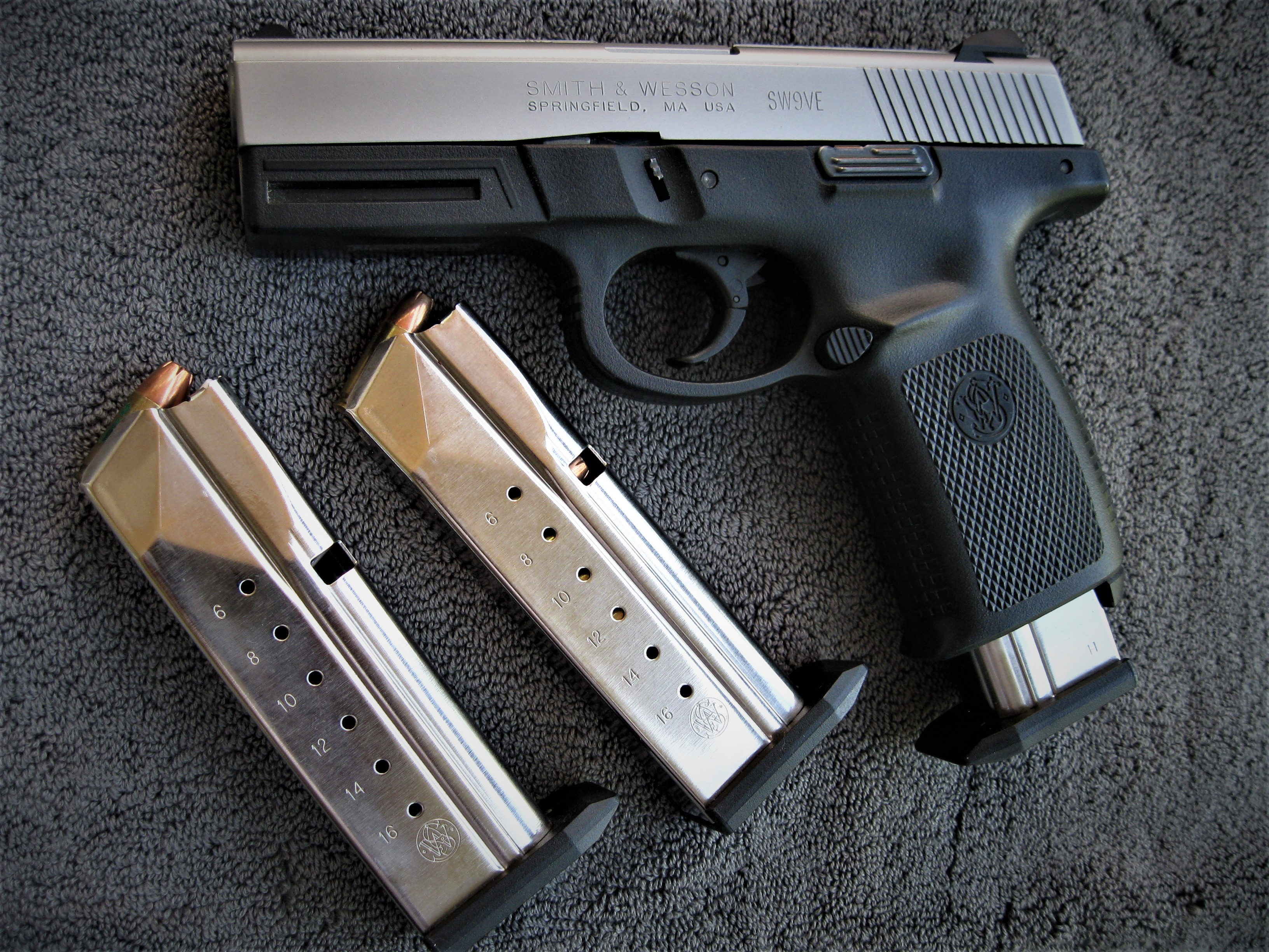 The Smith & Wesson SW9VE is a great option for self defense.