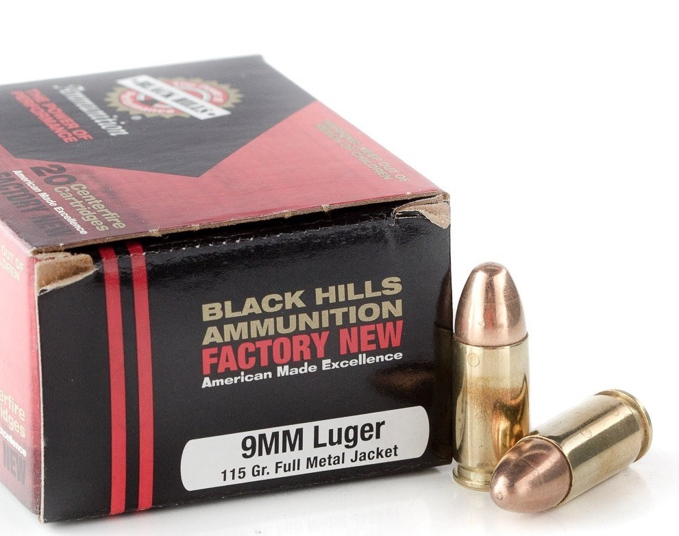 Great range ammo like the FMJ from Black Hills Ammo makes a difference quality practicing.