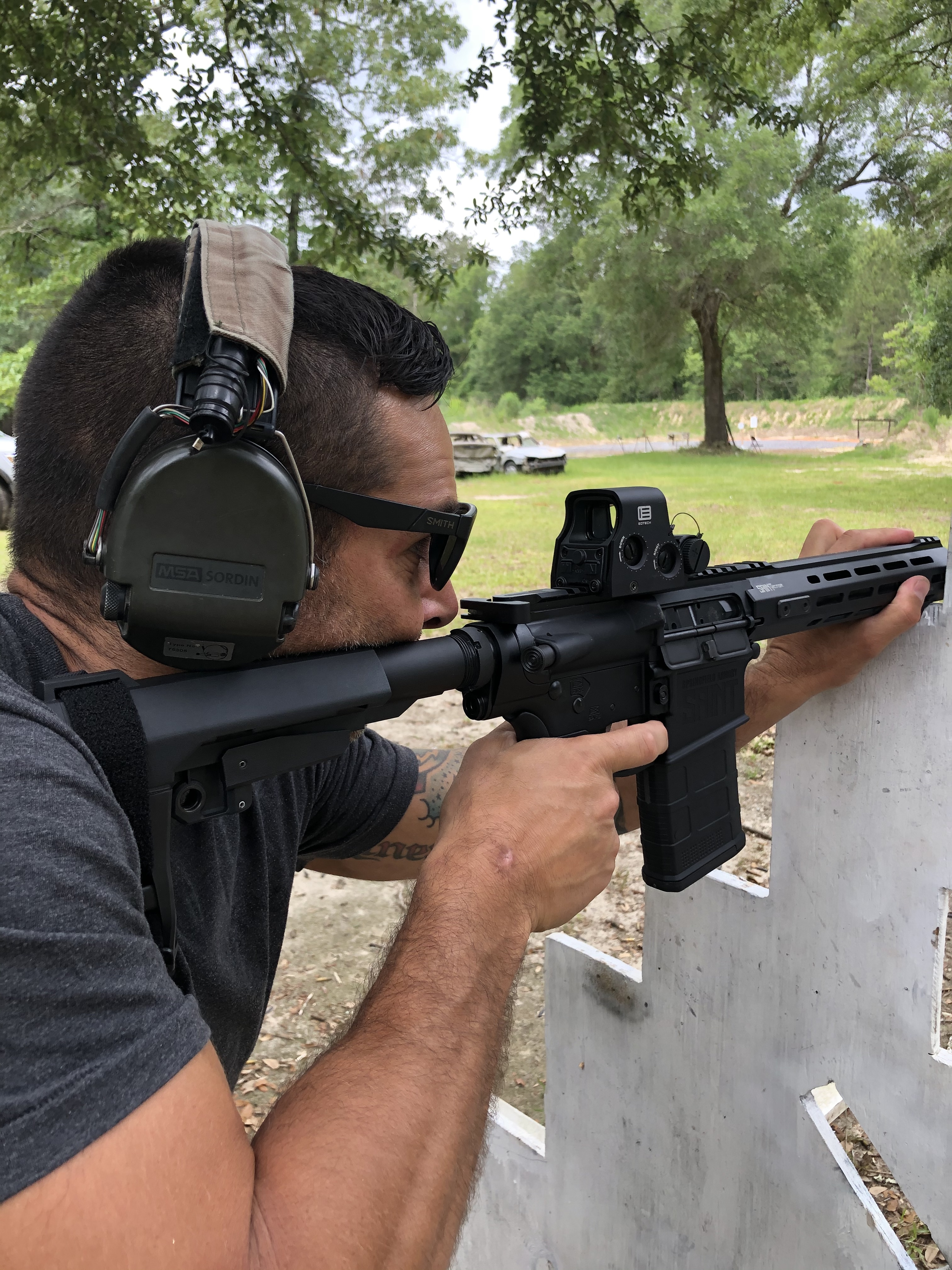 A pistol in .308 isn't the norm, but it gives fans of the platform more power and energy down range.