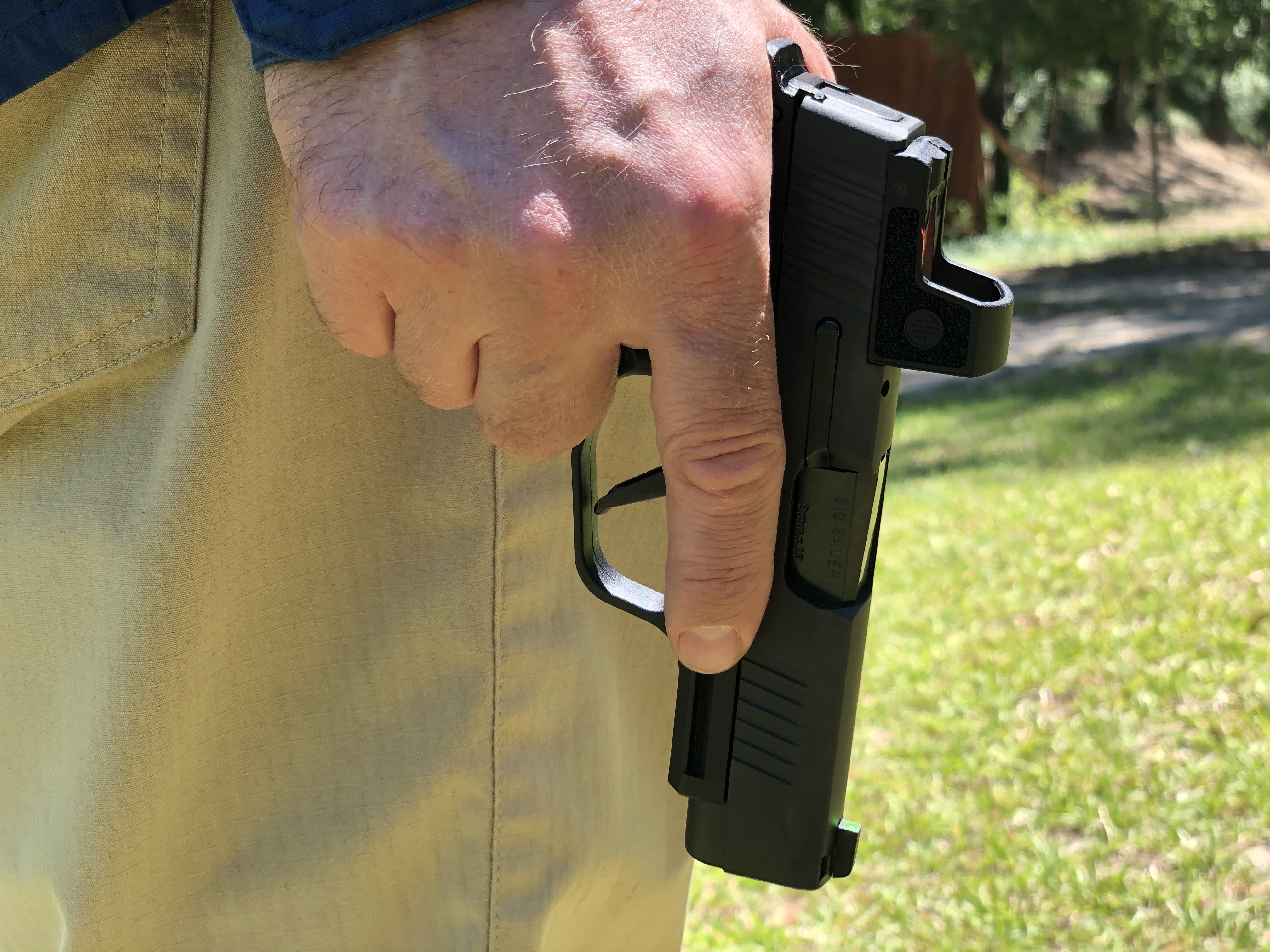 There is nothing wrong with slow practice. the Sig Sauer P365XL is a great option when practicing on the range.