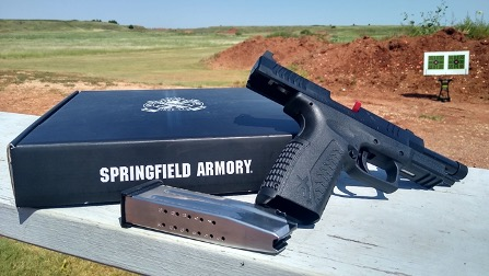 The Springfield Armory XD-M OSP in 10mm is a great firearm to take into the woods or on the street. With a 4.5-inch barrel, the XD-M 10mm can be concealed during the winter months in an OTW holster.