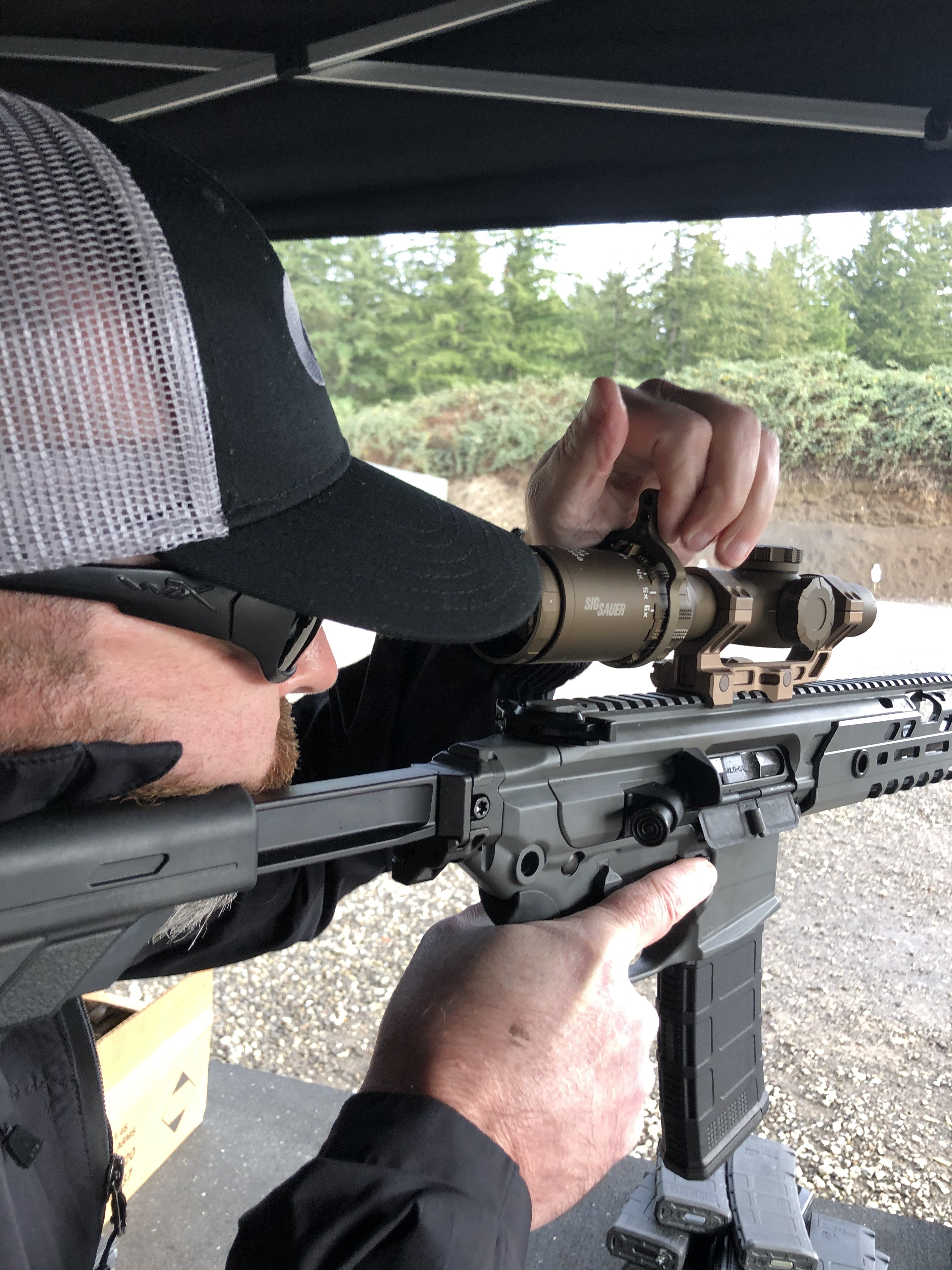 The Sig Sauer TANGO6T performed better than imagined on the range. Gary, Team Gun Talk, takes aim with the TANGO6T.