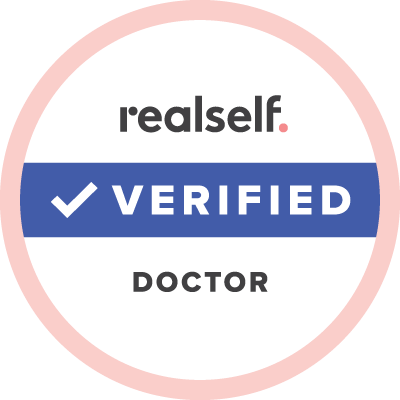 Realself Verified Doctor Logo.