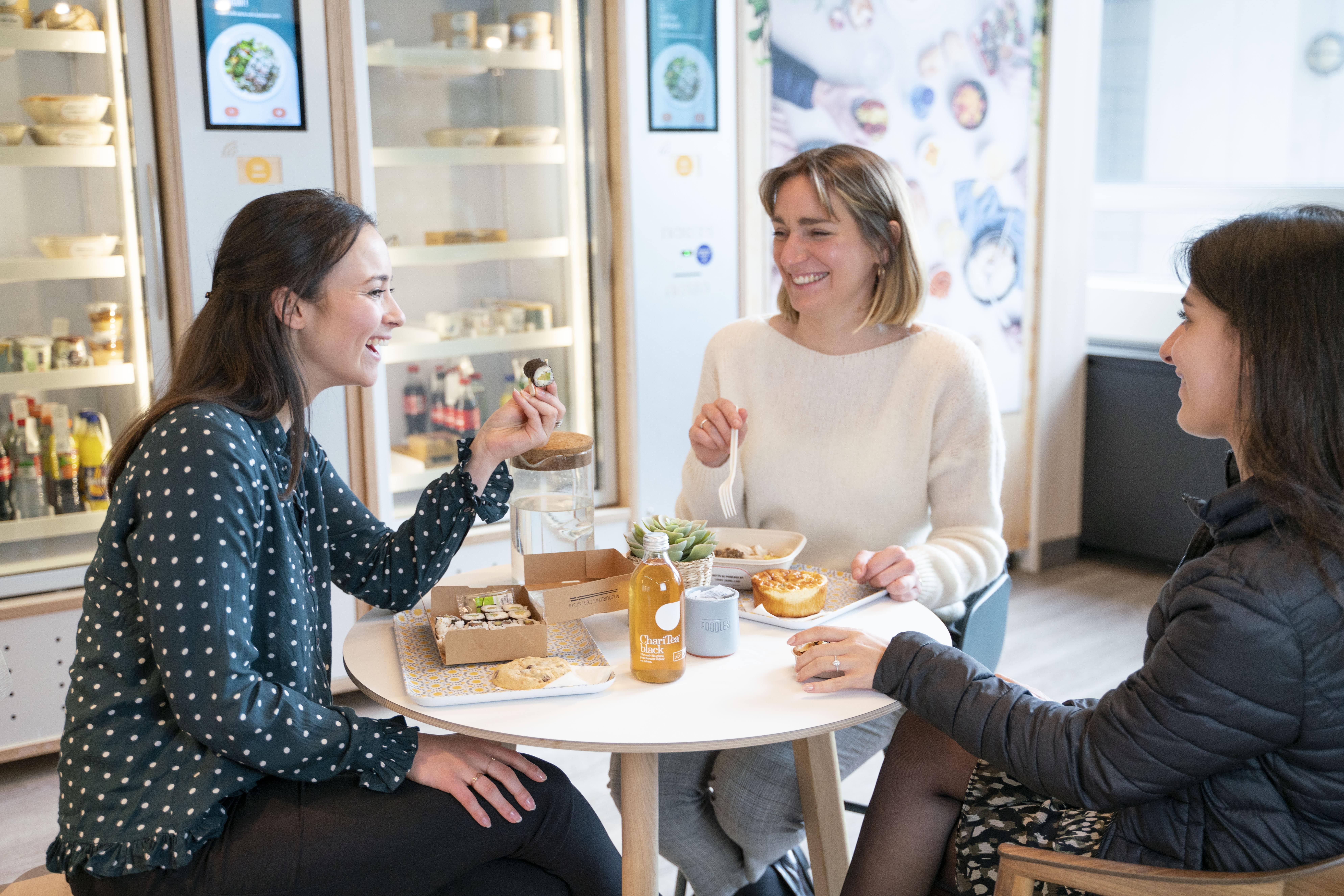 pause déjeuner entreprise collaborateurs