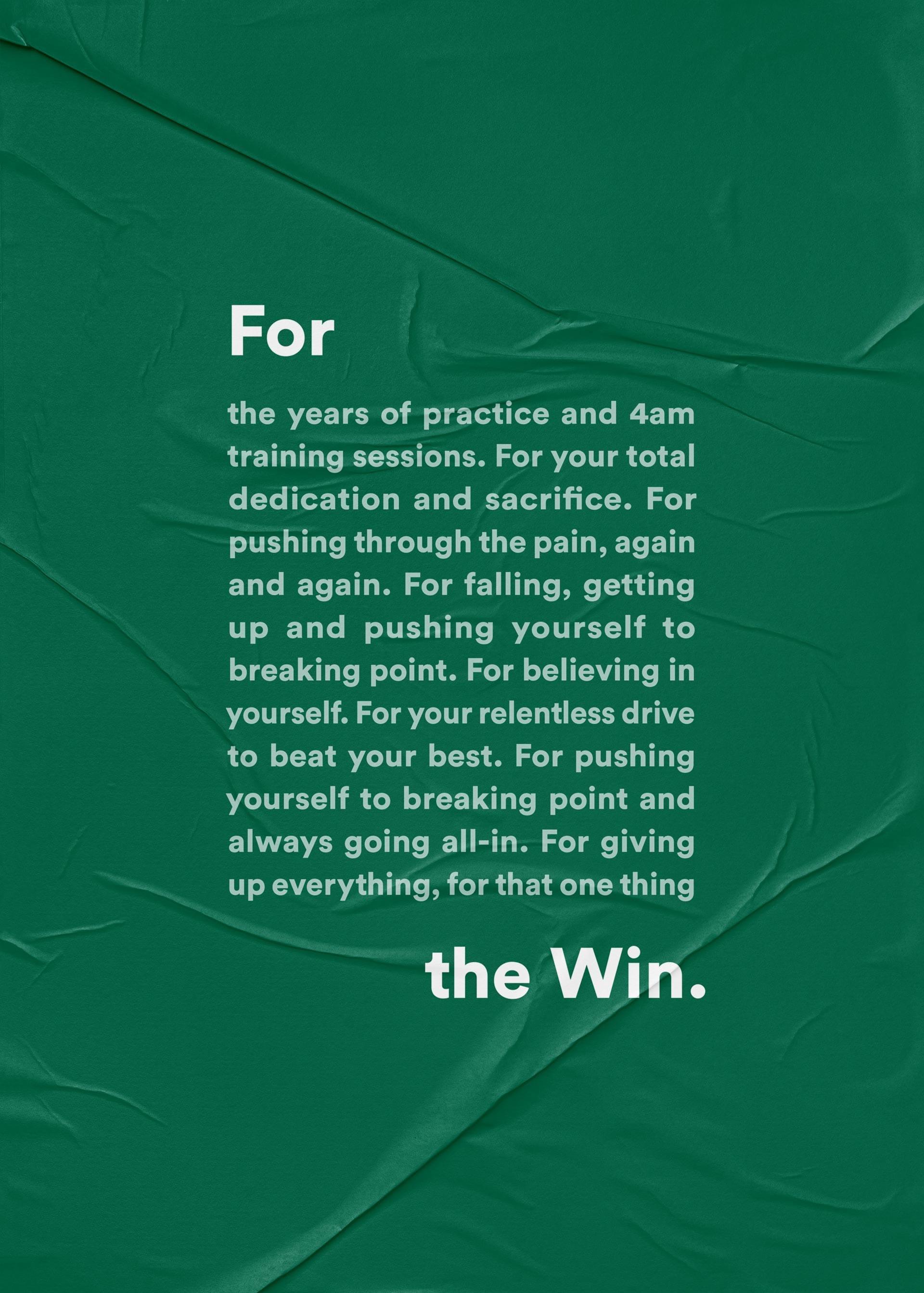 Belgotex sport Manifesto