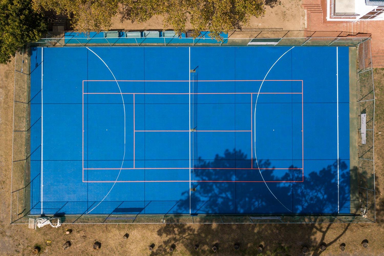 Tennis court at Springfield Convent School (1)
