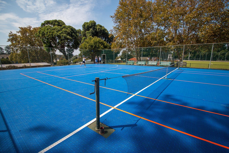 Tennis court at Springfield Convent School (3)