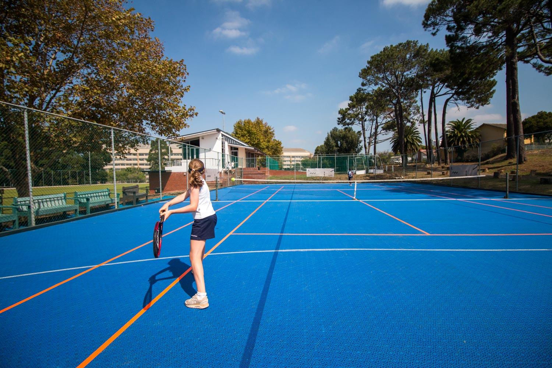 Tennis court at Springfield Convent School (2)