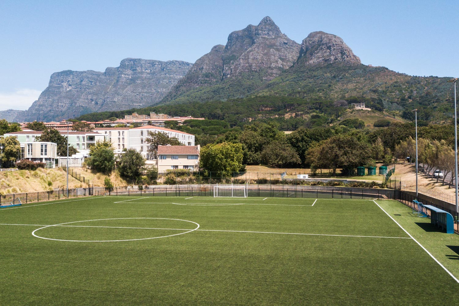 Artificial outdoor football pitch at University of Cape Town (3)