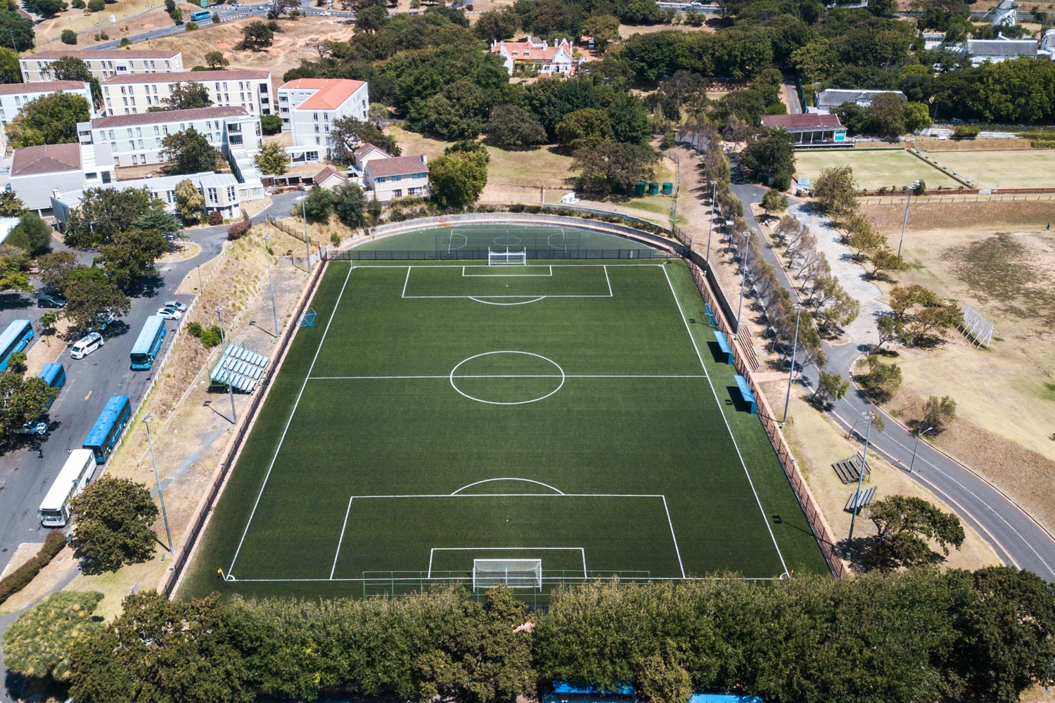 Artificial outdoor football pitch at University of Cape Town (1)