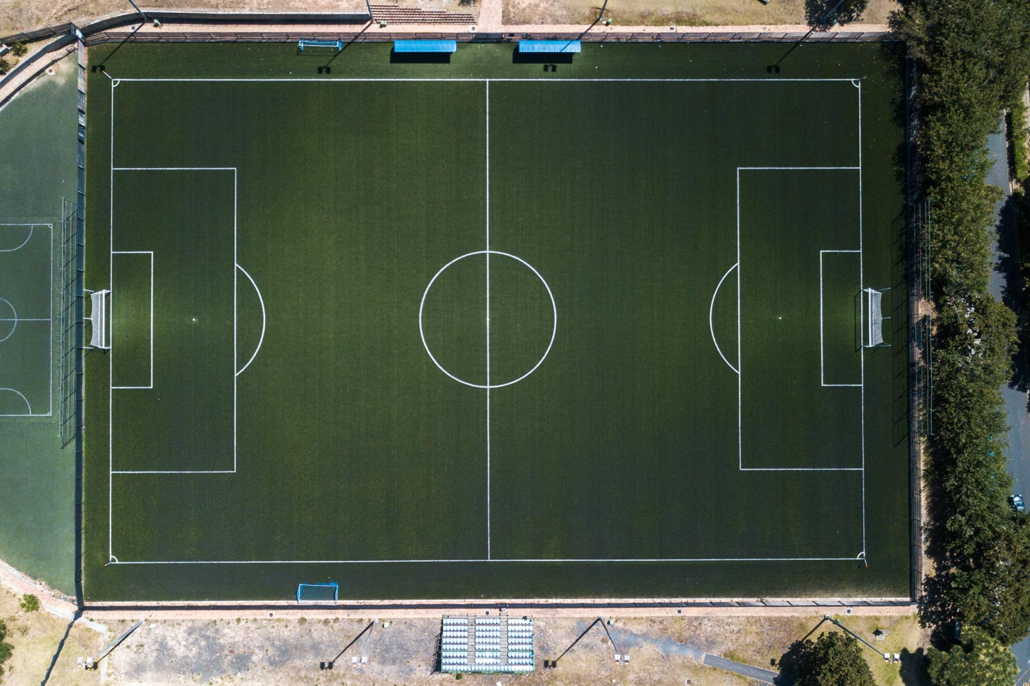 Artificial outdoor football pitch at University of Cape Town (2)