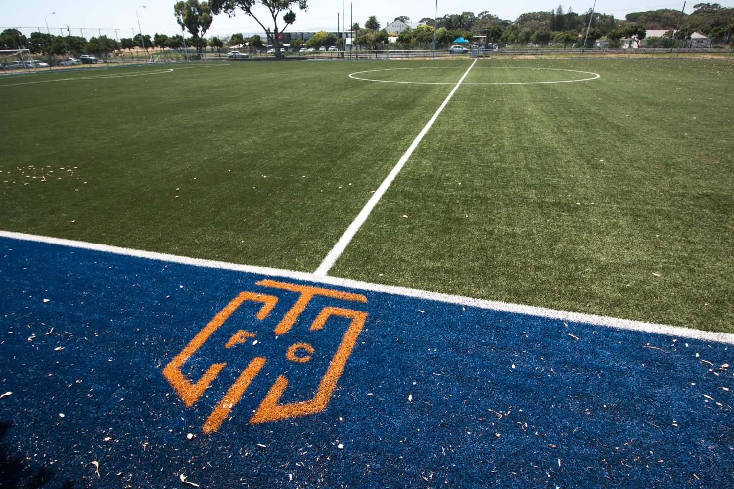 Artificial outdoor football pitch at Cape Town City Football Club (1)