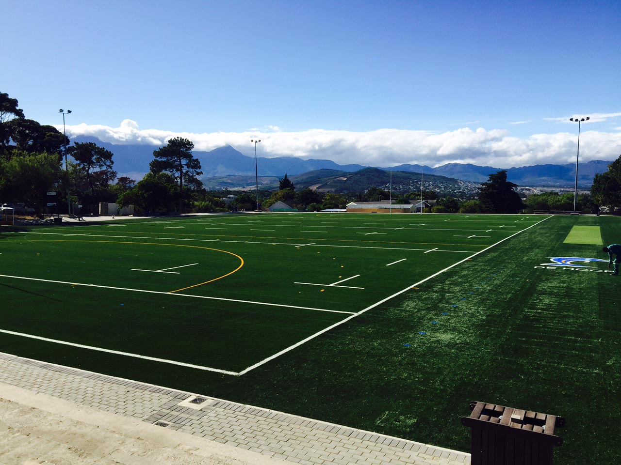 Artificial rugby pitch at Laerskool De Hoop  (5)