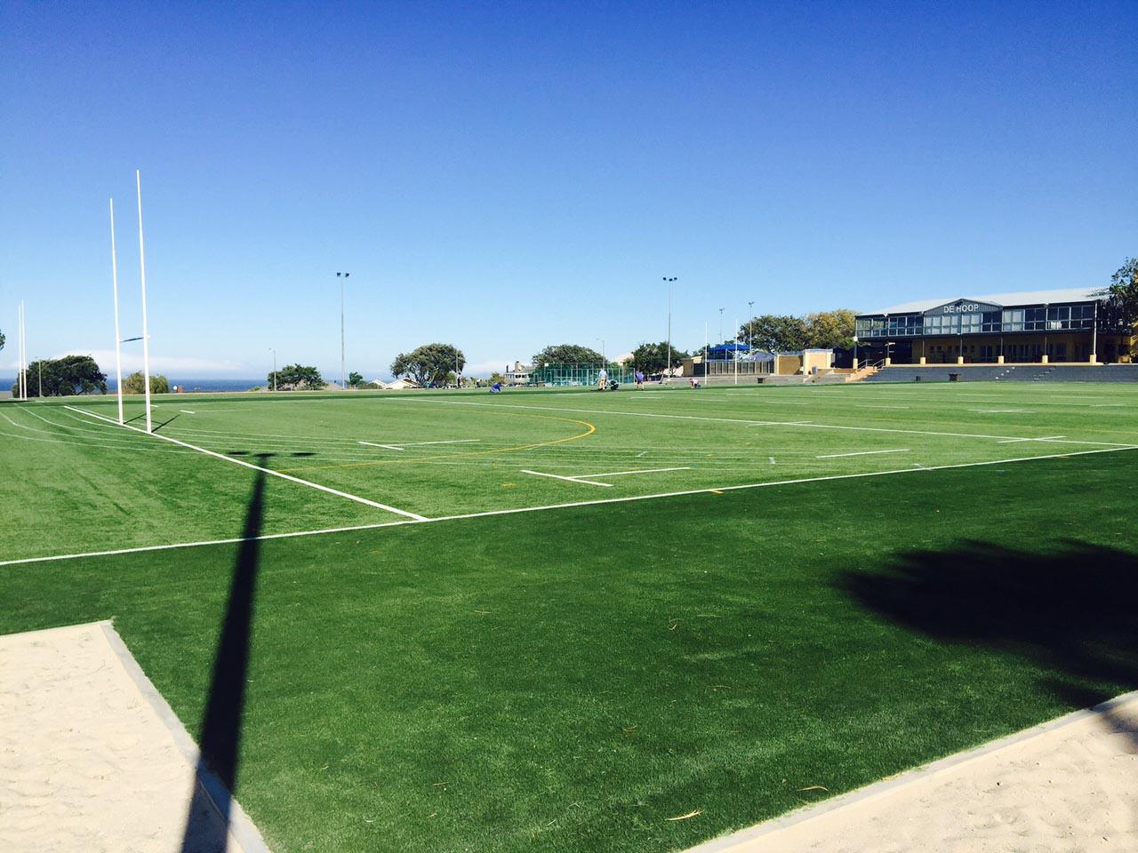 Artificial rugby pitch at Laerskool De Hoop  (4)