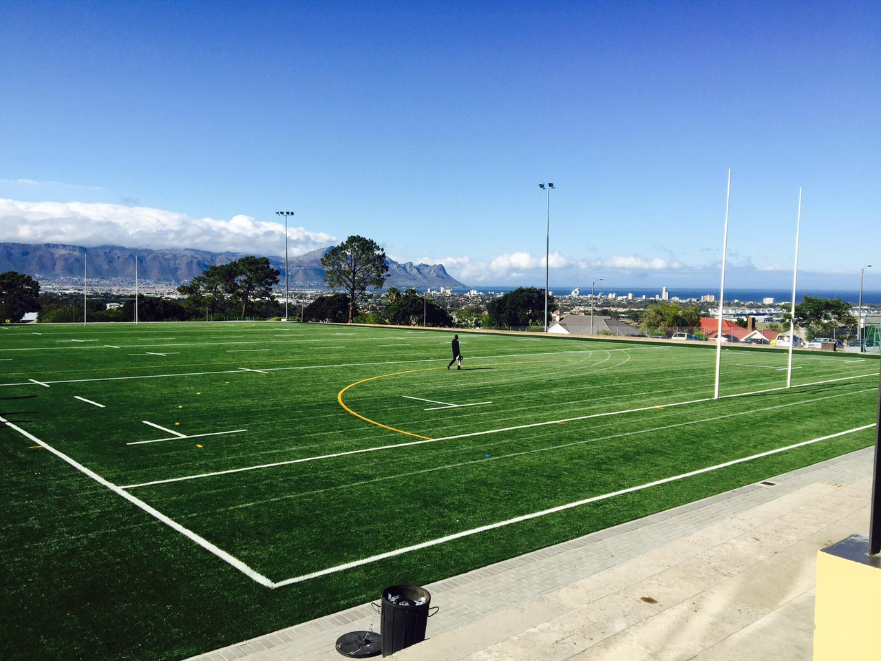 Artificial rugby pitch at Laerskool De Hoop  (6)