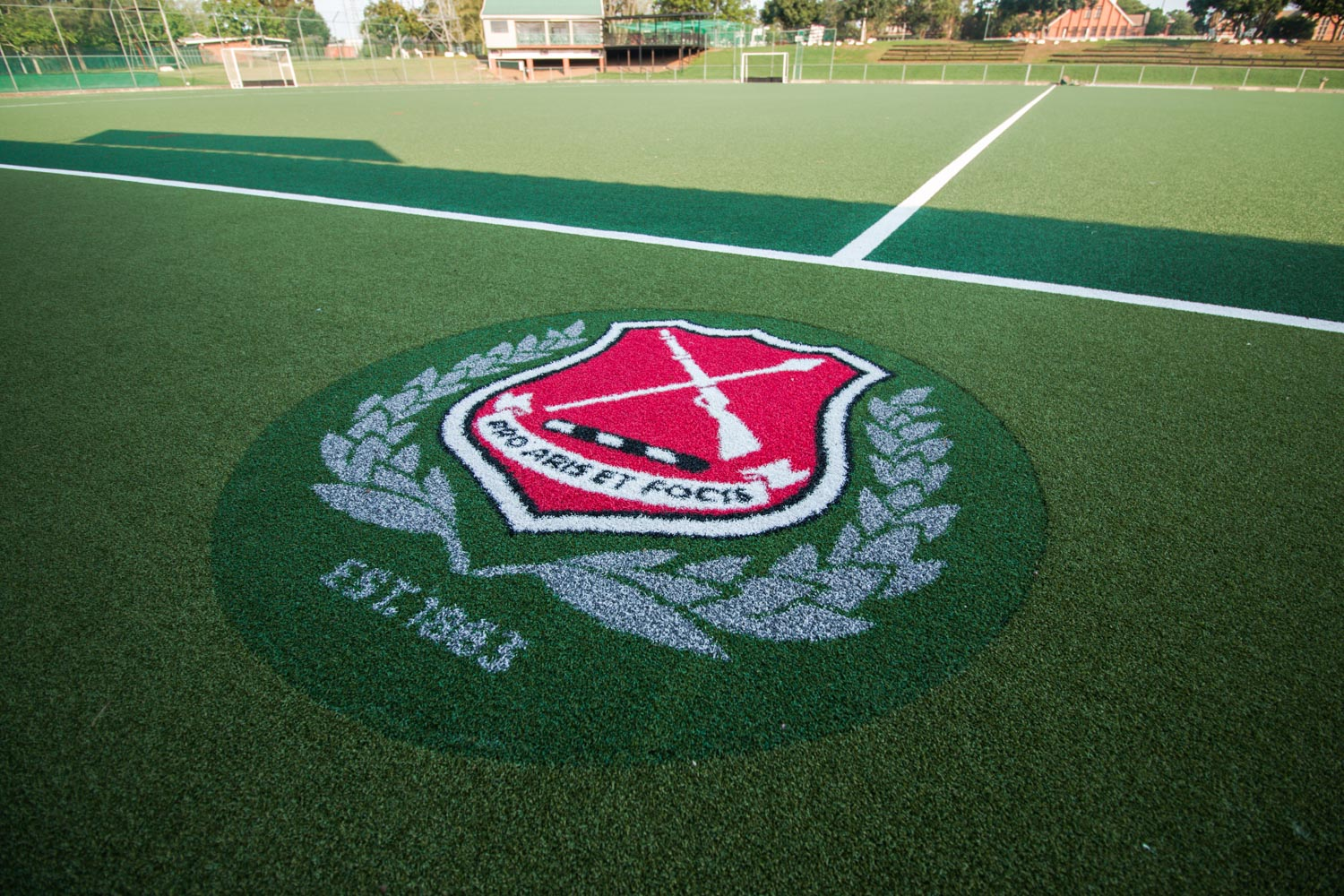 Artificial outdoor hockey surface at Maritzburg College (1)