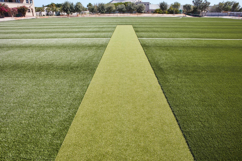 Artificial outdoor cricket pitch at Elkanah House Senior Preparatory School (2)