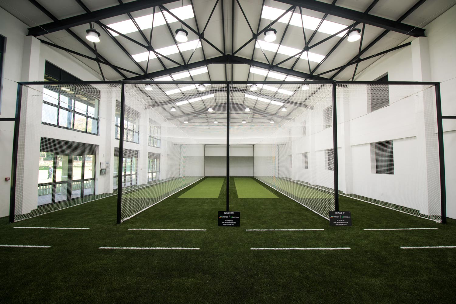 indoor cricket pitch at Rondebosch Boys High (1)