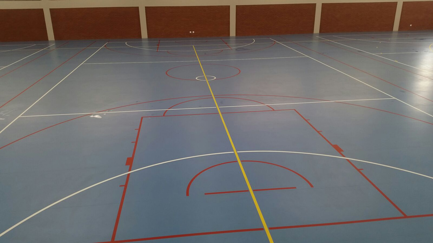 Indoor multi-use / football surface at St Annes DSG (1)