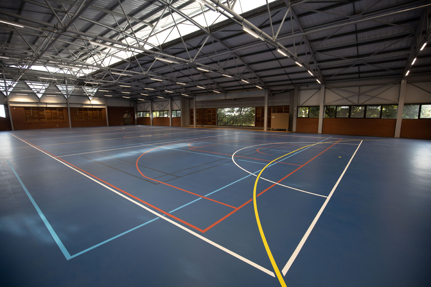 Indoor multi-use / football surface at Durban Girls High (2)