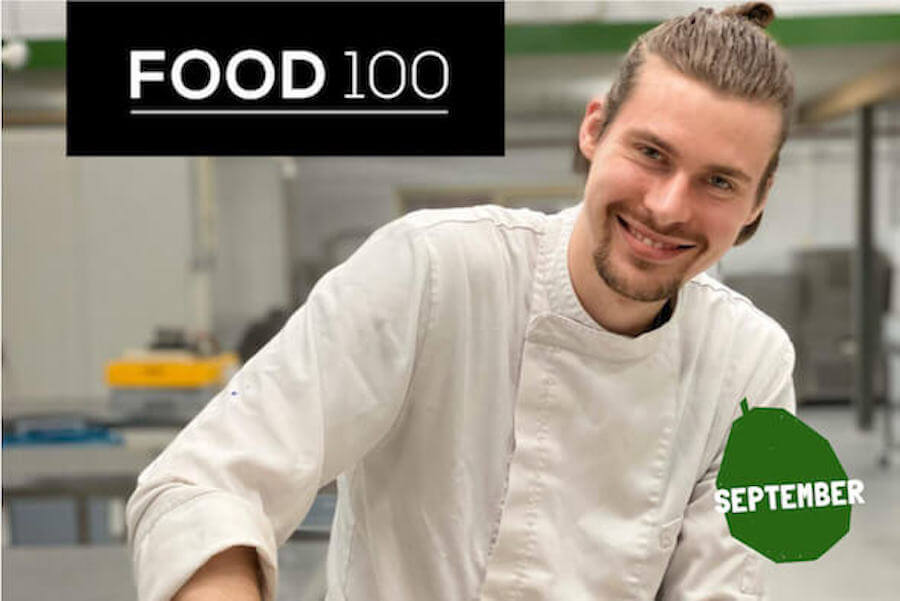 Sam in the top-100 food innovators in The Netherlands