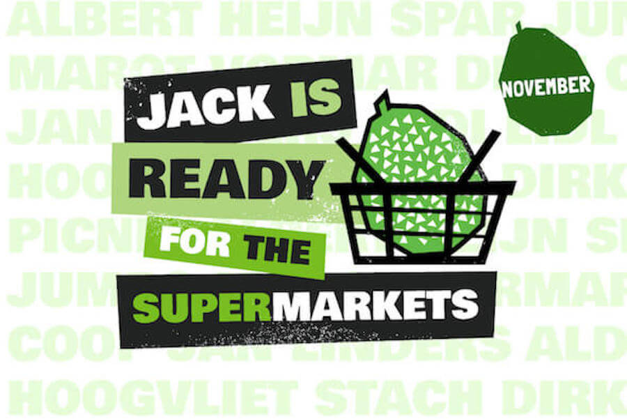 Jack is ready for the supermarkets