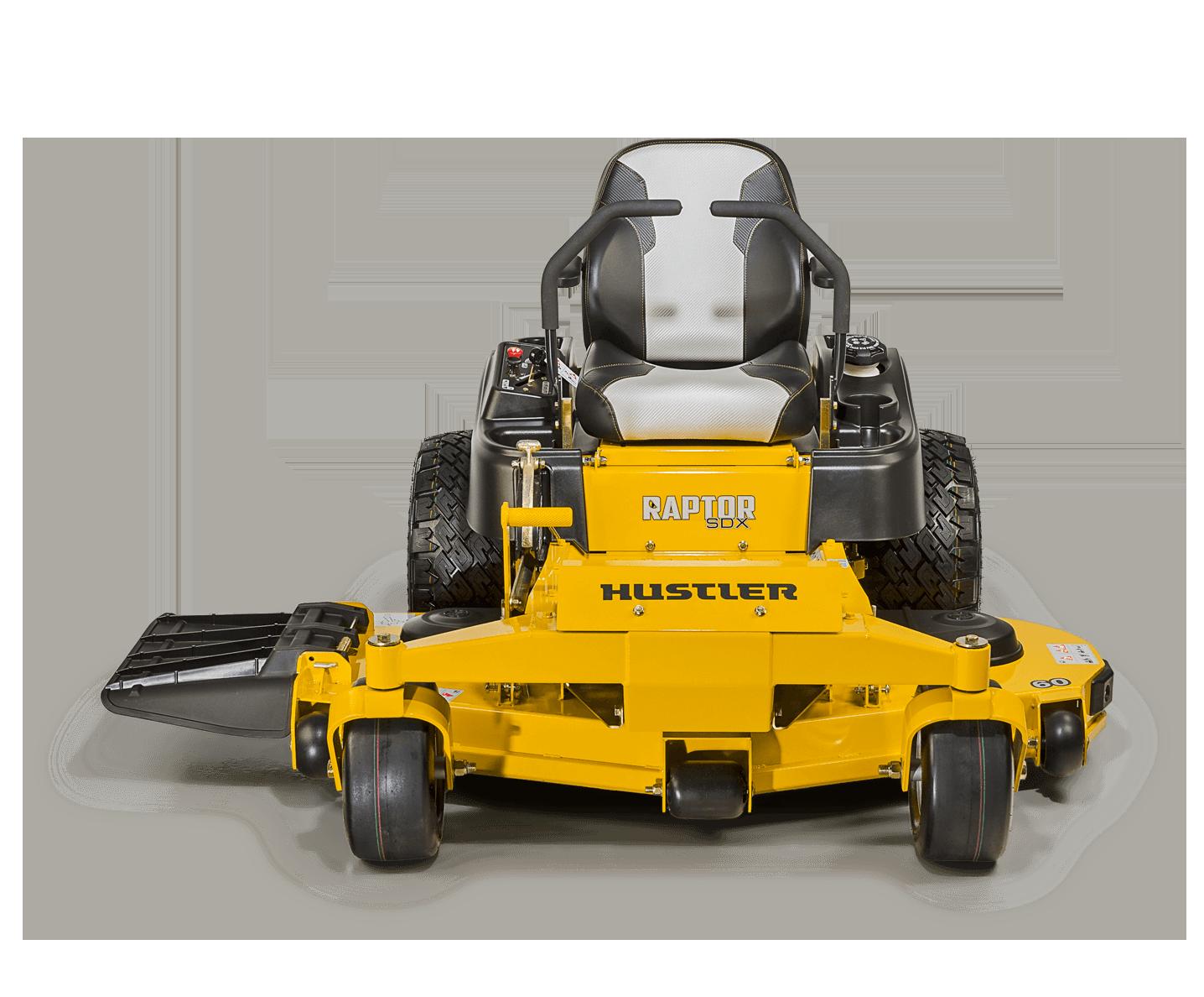 Hustler Raptor zero-turn mower