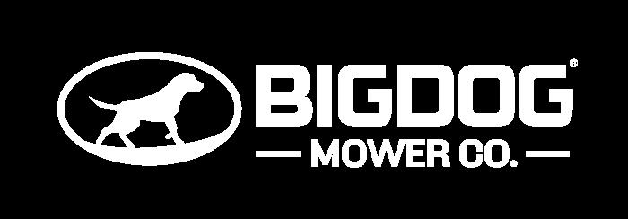 White BigDog logo