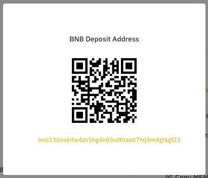 Binance QR-Code